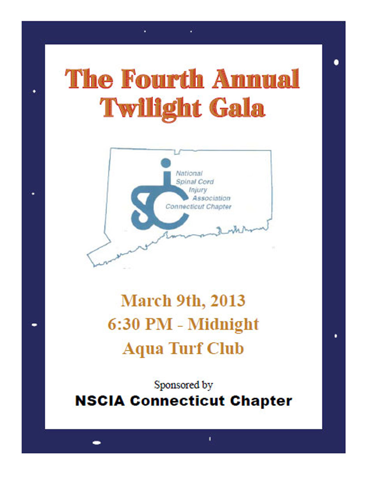 CT Spinal Cord Injury Association Twilight Gala & Auction